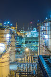 Refinery plant Stock Photo