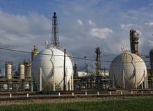 Refinery plant Stock Image