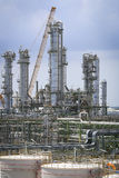 Refinery plant with sky Stock Photography