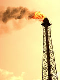 Refinery  Pollution Royalty Free Stock Photography