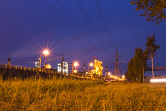 Refinery. Russia, Yaroslavl Stock Photography