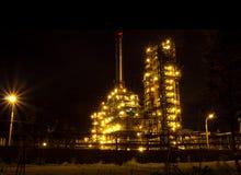 Refinery. Russia, Yaroslavl Royalty Free Stock Photography