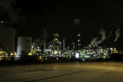 Refinery in Sarnia Ontario Royalty Free Stock Images