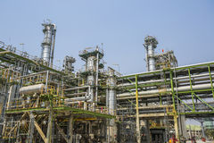 Refinery structure Royalty Free Stock Photo