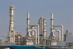 Refinery tower Stock Photography