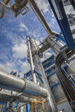 Refinery tower Royalty Free Stock Image