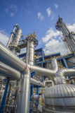 Refinery tower Royalty Free Stock Images