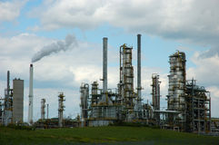 Refinery Towers Royalty Free Stock Photo