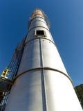 Refinery under construction Stock Photo