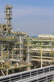 Refining factory on summer season Stock Image
