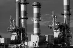 Refining plant Royalty Free Stock Photography