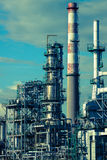 Refining plant Stock Images
