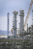 Refining tower Stock Photos