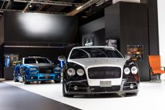Refitted vehicle at the auto show. Frankfurt, Germany,sep 2015 royalty free stock image