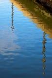 reflété images stock