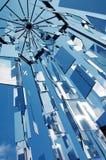 Reflétez l'installation en stationnement d'Egle, Riga, Lettonie Photos libres de droits