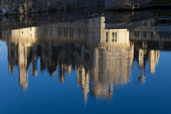Reflect in the Castle of Chambord Royalty Free Stock Image