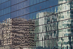 Reflect in La Defense, Paris. France Royalty Free Stock Photo