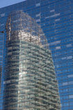 Reflect in La Defense, Paris Royalty Free Stock Image