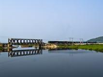 Reflected Bridge Royalty Free Stock Photo