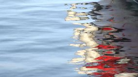 Reflected. In the canals of Venice stock footage