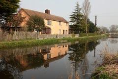 Reflected cottage Royalty Free Stock Image
