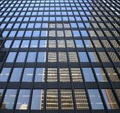 Reflected images. Reflections of buildings Stock Photos