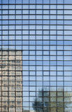 Reflected office building Royalty Free Stock Photo