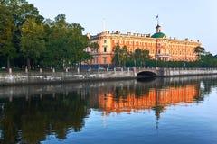 Reflected palace Stock Photo