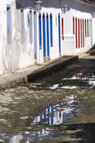Reflected in Paraty Stock Image