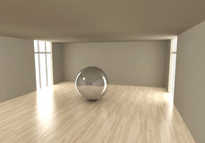 Reflected room Royalty Free Stock Photography