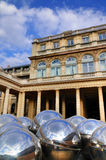 Reflecting Balls of Palais Royale Stock Photos
