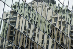 Reflecting buildings Royalty Free Stock Photography