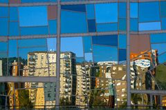 Reflecting Deusto Stock Image