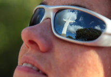 Reflecting on Faith Stock Photography