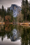 Reflecting on Half Dome Royalty Free Stock Photography
