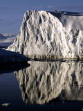 Reflecting ice wall. In the Antarctic evening sun Stock Photo