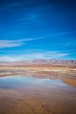 Reflecting Pond in Death Valley Stock Photography