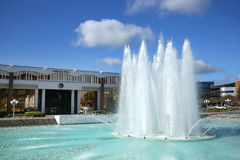 Free Reflecting Pond & Fountain In Front Of Millican Hall At UCF In Orlando, Florida. Royalty Free Stock Photography - 91858417