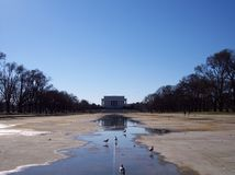 Reflecting Pool Stock Image