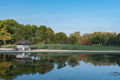 Reflecting Pool. On the National Mall Royalty Free Stock Photo
