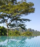 Reflecting pool, Phi Phi Island, Andaman Sea Royalty Free Stock Images