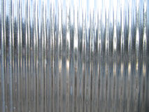Reflecting steel sheet roof Stock Photos