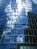 Reflecting Windows. Reflection of the sky on an office building near Potsdamer Platz, Berlin, Germany Royalty Free Stock Photography