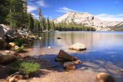 Reflection湖,优胜美地,加利福尼亚,美国 免版税图库摄影