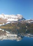 Reflection mountain Stock Image