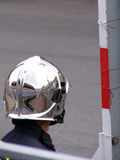 Reflection. Helmet reflection stock images