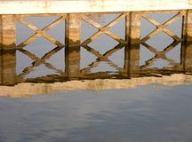 Reflection. Water royalty free stock images