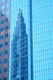 Reflection. Of a building in downtown Montreal stock photo