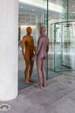 Reflection by Antony Gormley Stock Photos